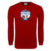 Cardinal Long Sleeve T Shirt-Battle On Blake