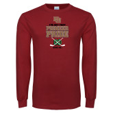 Cardinal Long Sleeve T Shirt-Pioneer Pride Hockey