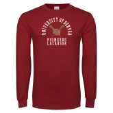 Cardinal Long Sleeve T Shirt-Pioneers Lacrosse