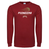Cardinal Long Sleeve T Shirt-Pioneers Lacrosse Denver