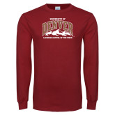 Cardinal Long Sleeve T Shirt-Lacrosse Capital