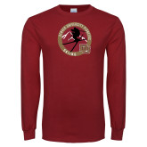 Cardinal Long Sleeve T Shirt-DU Skiing