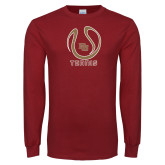 Cardinal Long Sleeve T Shirt-DU Tennis