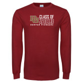 Cardinal Long Sleeve T Shirt-Class of, Personalized Year