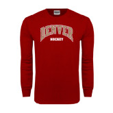 Cardinal Long Sleeve T Shirt-Hockey