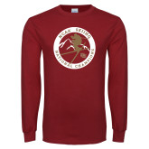 Cardinal Long Sleeve T Shirt-2018 NCAA Skiing National Champions
