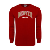 Cardinal Long Sleeve T Shirt-Soccer