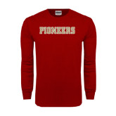 Cardinal Long Sleeve T Shirt-Pioneers