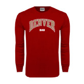 Cardinal Long Sleeve T Shirt-Dad