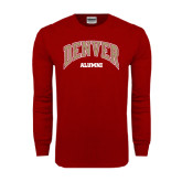 Cardinal Long Sleeve T Shirt-Alumni