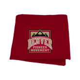 Cardinal Sweatshirt Blanket-Pioneer Movement