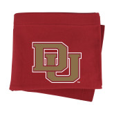 Cardinal Sweatshirt Blanket-DU