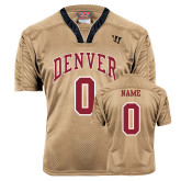 Replica Vegas Gold Adult Lacrosse Jersey-Personalized