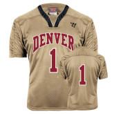 Replica Vegas Gold Adult Lacrosse Jersey-#1