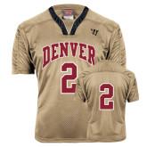 Replica Vegas Gold Adult Lacrosse Jersey-#2