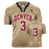 Replica Vegas Gold Adult Lacrosse Jersey-#3