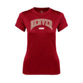 Ladies Syntrel Performance Cardinal Tee-Mom