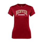 Ladies Syntrel Performance Cardinal Tee-Grandma