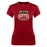 Ladies Syntrel Performance Cardinal Tee-Pioneer Movement