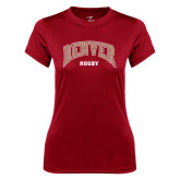 Ladies Syntrel Performance Cardinal Tee-Rugby