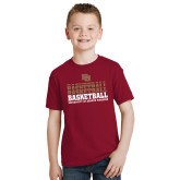 Youth Cardinal T Shirt-DU Basketball