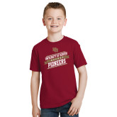 Youth Cardinal T Shirt-University of Denver Pioneers Hockey