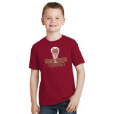 Youth Cardinal T Shirt-DU Lacrosse