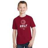 Youth Cardinal T Shirt-Denver Golf