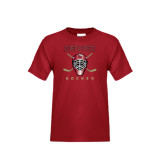Youth Cardinal T Shirt-Denver Hockey w/Mask