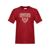 Youth Cardinal T Shirt-NCAA Division I Lacrosse Champs