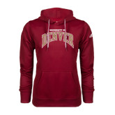 Adidas Climawarm Cardinal Team Issue Hoodie-Arched University of Denver