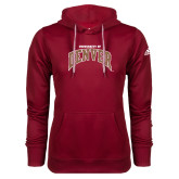 Adidas Climawarm Cardinal Team Issue Hoodie-University of Denver