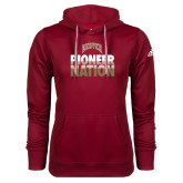 Adidas Climawarm Cardinal Team Issue Hoodie-Pioneer Nation