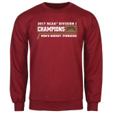 Cardinal Fleece Crew-2017 NCAA Division I Mens Hockey Champions