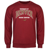 Cardinal Fleece Crew-Ricks Center