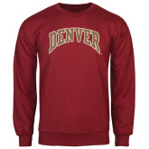 Cardinal Fleece Crew-Arched Denver 2 Color Version