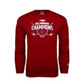 Cardinal Fleece Crew-2014 NCHC Tournament Champions