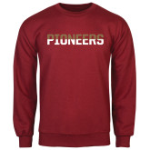 Cardinal Fleece Crew-Pioneers Two Tone
