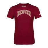 Adidas Cardinal Logo T Shirt-Arched Denver
