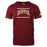 Adidas Cardinal Logo T Shirt-Denver