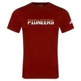 Adidas Cardinal Logo T Shirt-Pioneers Two Tone