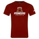 Adidas Cardinal Logo T Shirt-Pioneers Soccer Half Ball