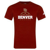 Adidas Cardinal Logo T Shirt-Denver Soccer Half Ball
