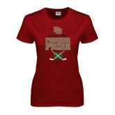 Ladies Cardinal T Shirt-Sioux Me