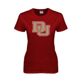 Ladies Cardinal T Shirt-DU