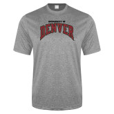 Performance Grey Heather Contender Tee-University of Denver