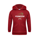 Youth Cardinal Fleece Hood-Pioneers Lacrosse Modern