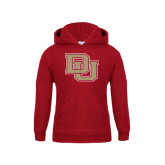 Youth Cardinal Fleece Hood-DU