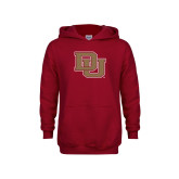 Youth Cardinal Fleece Hoodie-DU