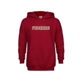 Youth Cardinal Fleece Hoodie-Pioneers